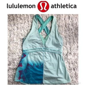Lululemon Tank Cross-back Size 6